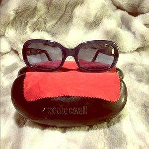 Roberto Cavalli sunglasses cobalt blue